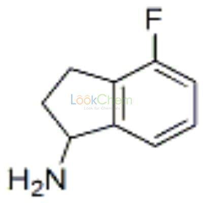 148960-38-7 1H-Inden-1-amine,4-fluoro-2,3-dihydro-,(-)-(9CI)