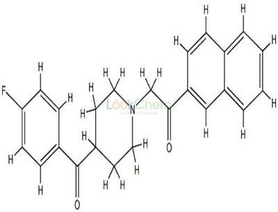 107025-80-9 2-(4-(4-fluorobenzoyl)piperidin-1-yl)-2'-acetonaphthone