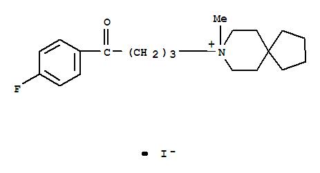1-(4-fluorophenyl)-4-(8-methyl-8-azoniaspiro[4.5]decan-8-yl)butan-1-oneiodide