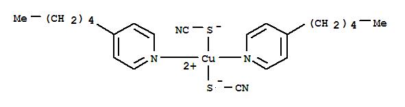 Copper,bis(4-pentylpyridine)bis(thiocyanato-S)- (9CI) cas 15304-26-4