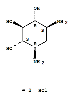 <em>Streptamine</em>, 2-deoxy-,hydrochloride (1:2)
