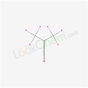 3,3,3-Trifluoropropenone, 2-(trifluoromethyl)-