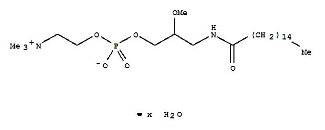 rac-3-Hexadecanamido-2-methoxypropan-1-ol Phosphocholine Monohydrate