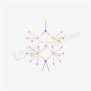 (difluorophosphaniumyl-methyl-amino)-difluoro-phosphanium; tungsten cas  63371-85-7