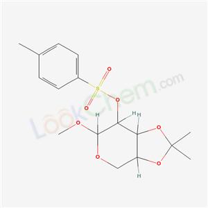 3-methoxy-8,8-dimethyl-2-(4-methylphenyl)sulfonyloxy-4,7,9-trioxabicyclo[4.3.0]nonane cas 6847-76-3