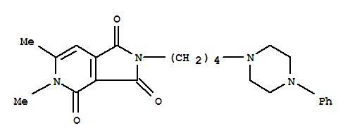 3,4-DIMETHYL-8-[4-(4-PHENYLPIPERAZIN-1-YL)BUTYL]-3,8-DIAZABICYCLO[4.3. 0]NONA-4,10-DIENE-2,7,9-TRIONE