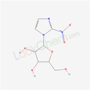 (2R,3R,4R,5S)-2-(hydroxymethyl)-5-(2-nitroimidazol-1-yl)oxolane-3,4-diol cas  67773-77-7