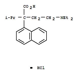 1-Naphthaleneaceticacid, a-[2-(diethylamino)ethyl]-a-(1-methylethyl)-, hydrochloride(1:1)