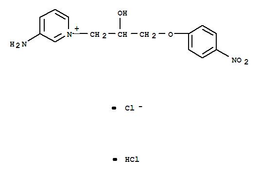 3-AMINO-1-(2-HYDROXY-3-(4-NITROPHENOXY)PROPYL)PYRIDINIUM CHLORIDE HCL