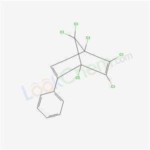 1,4,5,6,7,7-hexachloro-2-phenyl-bicyclo[2.2.1]hepta-2,5-diene cas  6558-27-6