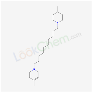 4-methyl-1-[10-(4-methyl-1-piperidyl)decyl]-2H-pyridine cas  6275-34-9