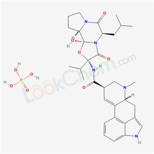 12'-HYDROXY-5'A-ISOBUTYL-2'-ISOPROPYLERGOTAMAN-3',6',18-TRIONE PHOSPHONATE