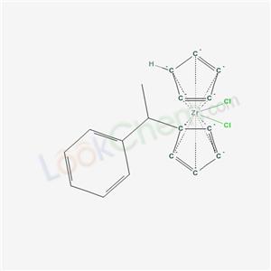 cyclopenta-1,3-diene; 1-(1-cyclopenta-2,4-dienyl)ethylbenzene; dichlorozirconium cas  68366-01-8