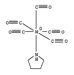 Tungsten,pentacarbonyl(pyrrolidine)-,(OC-6-22)- cas  15228-28-1
