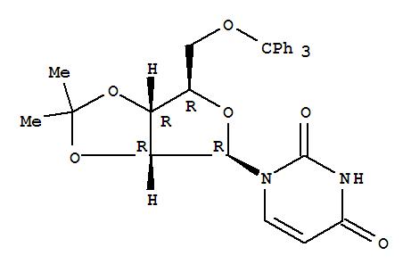 Uridine,2',3'-O-(1-methylethylidene)-5'-O-(triphenylmethyl)- cas  10526-27-9
