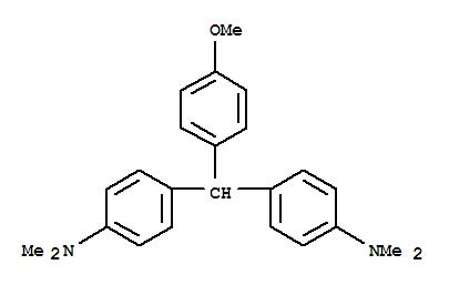 Benzenamine,4,4'-[(4-methoxyphenyl)methylene]bis[N,N-dimethyl- cas 641-59-8
