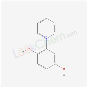 2-pyridin-1-ylbenzene-1,4-diol cas  6266-94-0