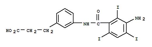 3-[3-[(3-AMINO-2,4,6-TRIIODO-BENZOYL)AMINO]PHENYL]PROPANOIC ACID