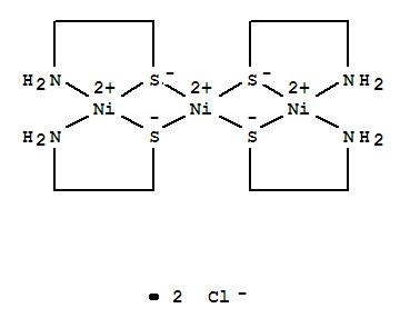 Nickel(2+), tetrakis[m-[2-(amino-kN)ethanethiolato-kS:kS]]tri-, dichloride (9CI) cas  29993-19-9