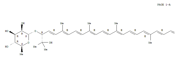 2-[(4E,6E,8E,10E,12E,14E,16E,18E,20E,22E,24E,26E,28E)-2,31-DIHYDROXY-2,6,10,14,19,23,27,31-OCTAMETHYL-30-(3,4,5-TRIHYDROXY-6-METHYL-OXAN-2-YL)OXY-DOTRIACONTA-4,6,8,10,12,14,16,18,20,22,24,26,28-TRIDEC