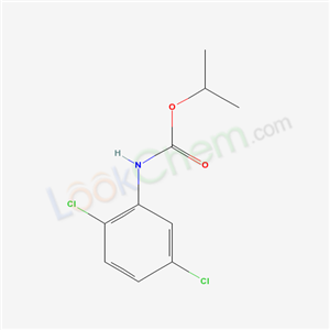 propan-2-yl N-(2,5-dichlorophenyl)carbamate cas  2150-26-7