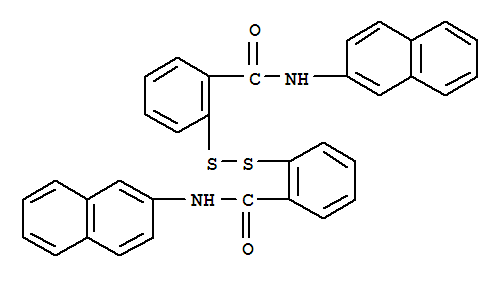 2,2'-DITHIOBIS[N-(NAPHTH-2-YL)BENZAMIDE]