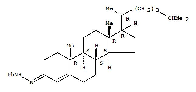 Cholest-4-en-3-one,phenylhydrazone (8CI,9CI) cas  20988-50-5