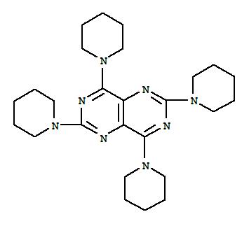 Pyrimido[5,4-d]pyrimidine,2,4,6,8-tetra-1-piperidinyl-