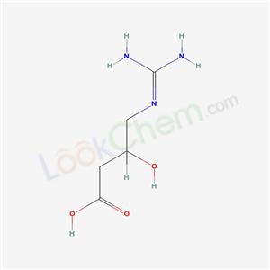 Butanoic acid, 4-((aminoiminomethyl)amino)-3-hydroxy- (9CI) cas 7010-89-1