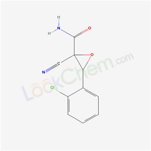 3-(2-chlorophenyl)-2-cyano-oxirane-2-carboxamide cas 3513-09-5