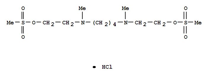3-Oxa-2-thia-6,11-diazatridecan-13-ol,methanesulfonate (ester), 2,2-dioxide, monohydrochloride (9CI) cas  3415-55-2