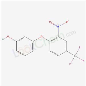 3-[2-nitro-4-(trifluoromethyl)phenoxy]phenol cas  71626-84-1