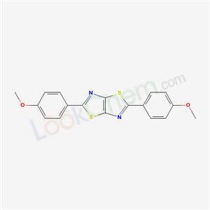Thiazolo(5,4-d)thiazole, 2,5-bis(p-methoxyphenyl)-