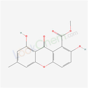 2,8-DIHYDROXY-6-METHYL-9-OXO-9H-XANTHENE-1-CARBOXYLIC ACID METHYL ESTER