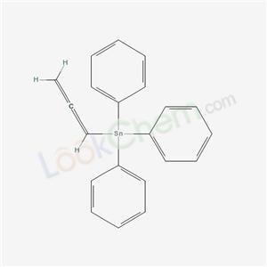 Triphenylstannane compound with <em>allene</em> (1:1)