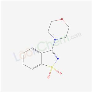 7-morpholin-4-yl-9$l^{6}-thia-8-azabicyclo[4.3.0]nona-1,3,5,7-tetraene 9,9-dioxide cas 7668-31-7