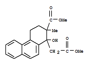 1-Phenanthreneacetic acid,1,2,3,4-tetrahydro-1-hydroxy-2-(methoxycarbonyl)-2-methyl-, methyl ester