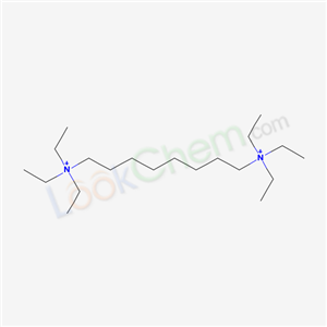 triethyl-(8-triethylammoniooctyl)azanium cas  51523-40-1