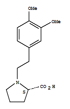 L-Proline,1-[2-(3,4-dimethoxyphenyl)ethyl]- cas  56014-48-3