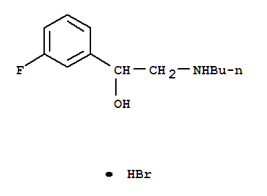 BUTYLAMINOMETHYL-3-FLUOROBENZYL ALCOHOL HBR