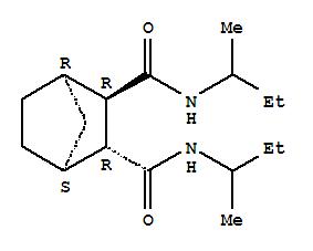 2,3-Norbornanedicarboxamide,N,N'-di-sec-butyl-, trans- (8CI) cas  5602-41-5