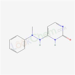 4-(2-methyl-2-phenyl-hydrazinyl)-3H-pyrimidin-2-one