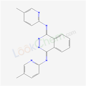 N,N-bis(5-methylpyridin-2-yl)phthalazine-1,4-diimine cas  85182-24-7