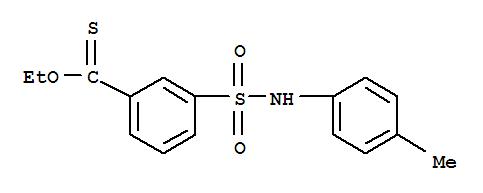 Benzenecarbothioicacid, 3-[[(4-methylphenyl)amino]sulfonyl]-, O-ethyl ester cas  56542-85-9