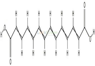 505-53-3 (2E,4E,6E,8E,10E,12E)-2,4,6,8,10,12-Tetradecahexene-1,14-dioic acid