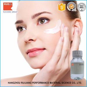 Non-ionic <em>silicone</em> surfactant skin care oil cyclomethicone