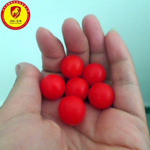 4mm-15mm Red Silicone Ball