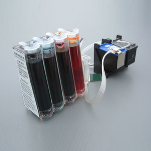 CNJACKY Empty Ciss Continuous Ink Supply System for Printers Four Colors Without Ink can be Placed Sublimation//Dye//Pigment Ink