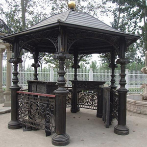 Gazebo Wrought Iron Garden Furniture