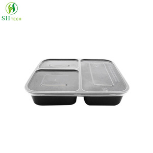 disposable plastic food containers, disposable plastic food